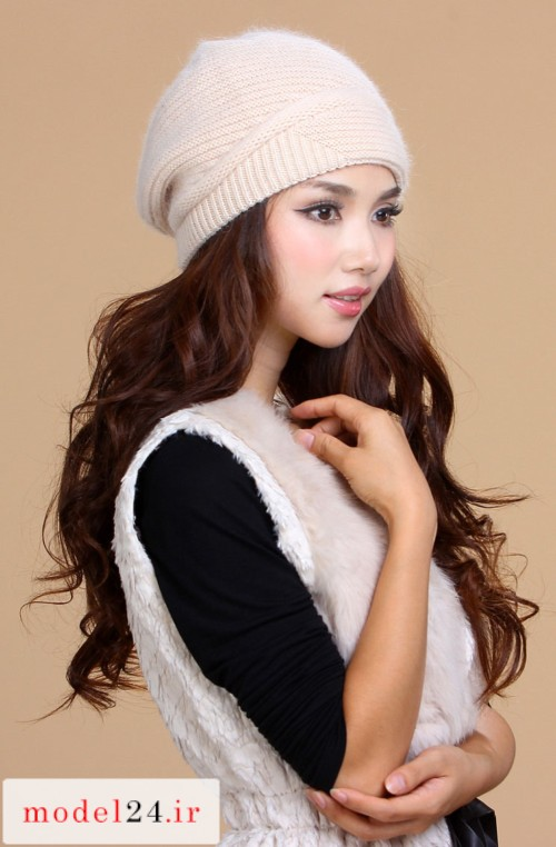 Model Hat Knitted Girlie